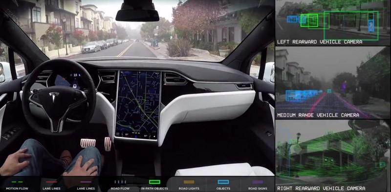 特斯拉發表Autopilot 8.1更新:支援智慧召喚功能、自動轉向最高時速可至130公里/小時