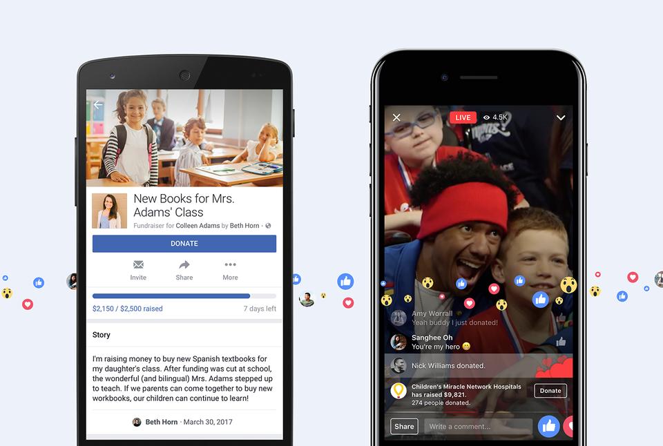 另一募資平台誕生?Facebook開放個人用戶依私人原因進行公眾募款