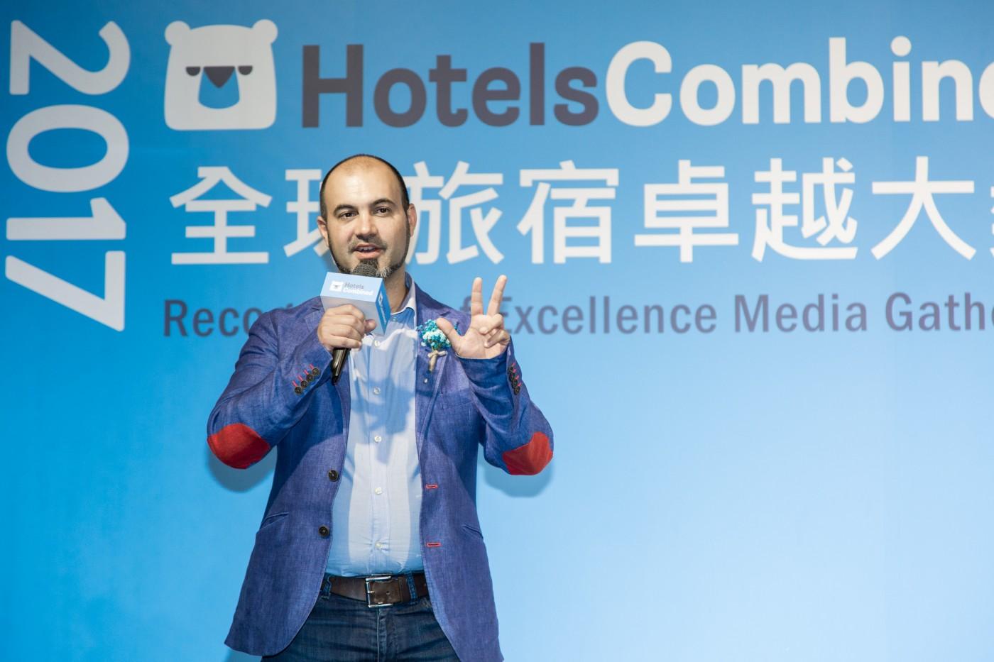 三大理由看好訂房搜尋比價市場 HotelsCombined執行長:還看不到成長天花板