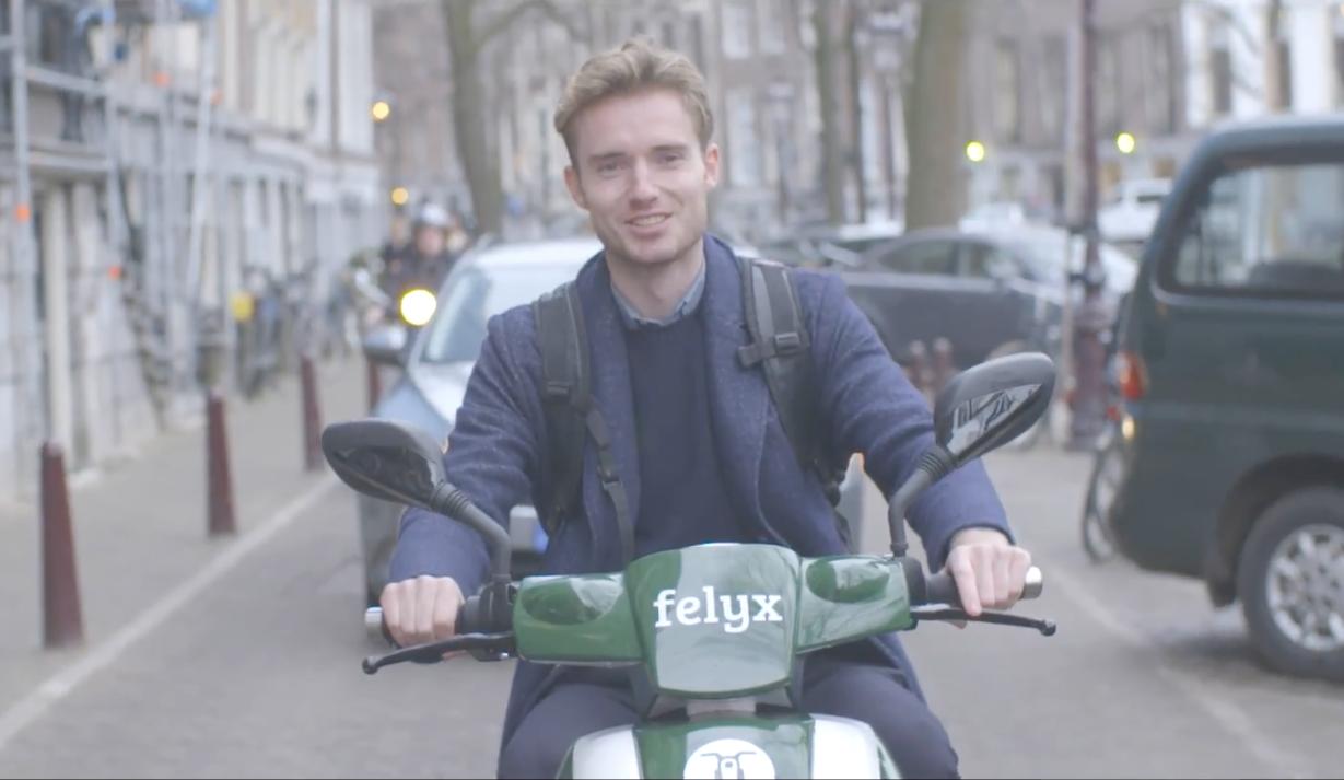 荷蘭阿姆斯特丹推出共享電動機車,可隨處租還車,不需找停靠站