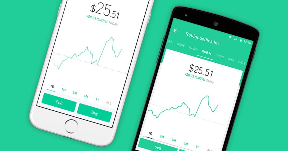 矽谷最新獨角獸!免手續費股票交易app「Robinhood」獲C輪1.1億美元投資、估值上看13億美元