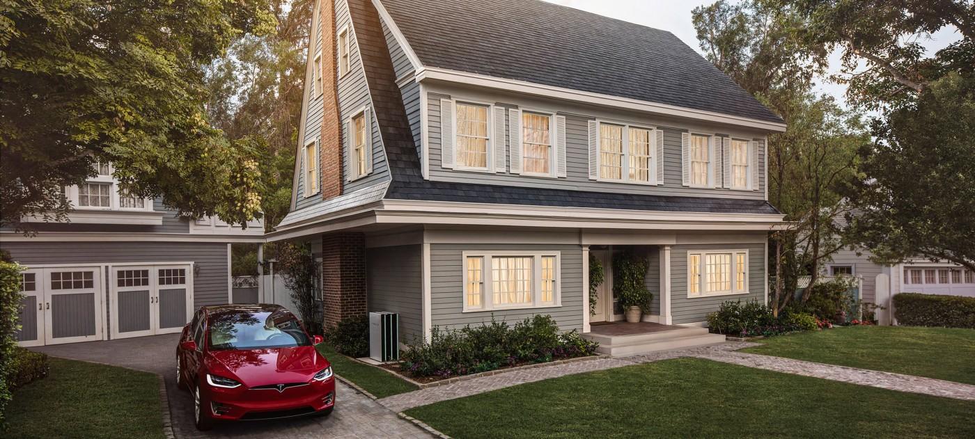 94狂!特斯拉推出比一般屋瓦更便宜的太陽能屋瓦,還提供永久保固!