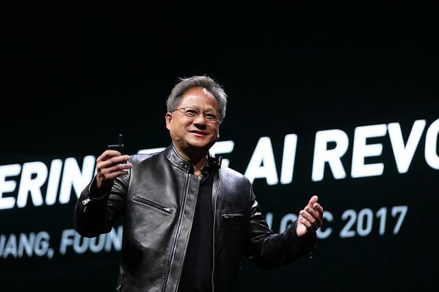 黃仁勳這場在GTC上進行的演講,讓NVIDIA股價再次暴漲17%