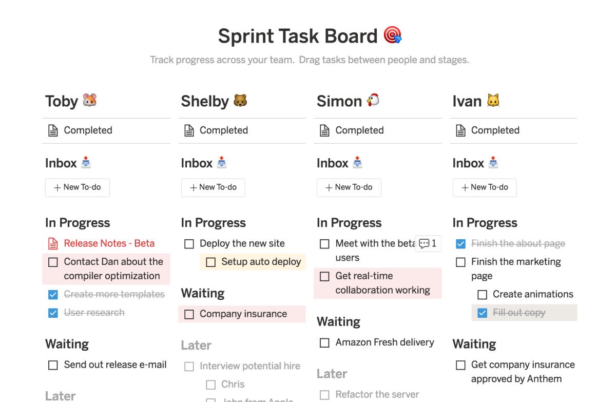 Notion:把文件、任務、知識庫「無縫重組」的全新專案整理工具