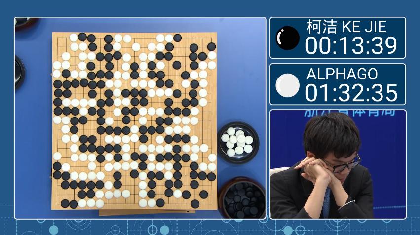 人類背水一戰!纏鬥五小時,AlphaGo擊敗世界圍棋冠軍柯潔拿首勝