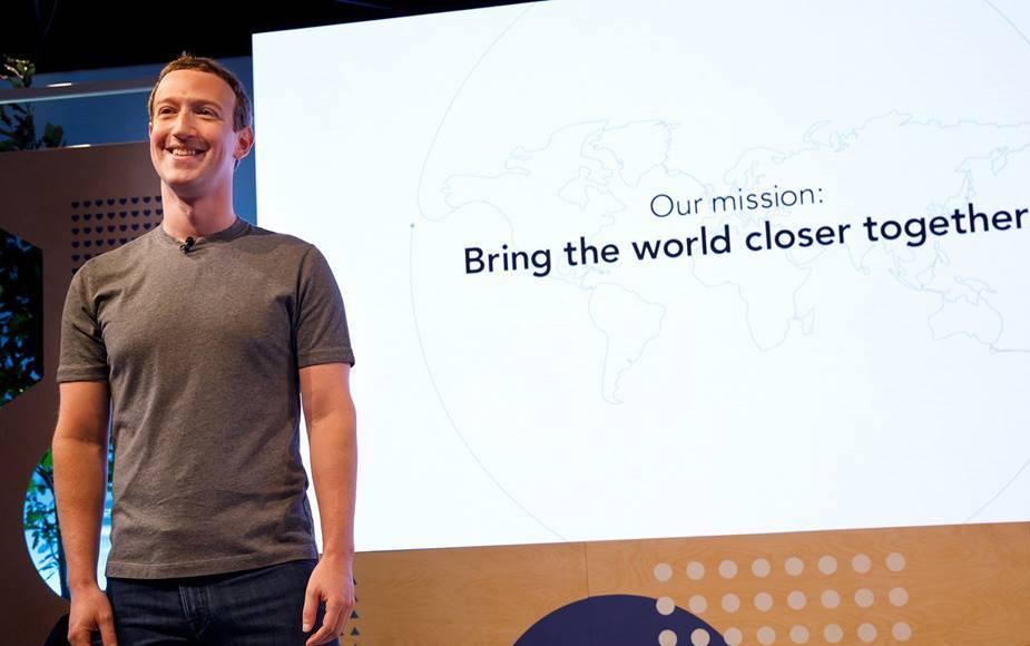 「社會依然分裂,我們有責任做更多事。」馬克·佐克伯宣布Facebook的新使命是「讓世界更緊密」