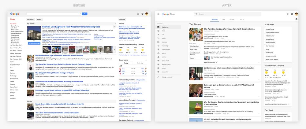 15歲的Google新聞大改版:卡片式設計、強調多元觀點呈現