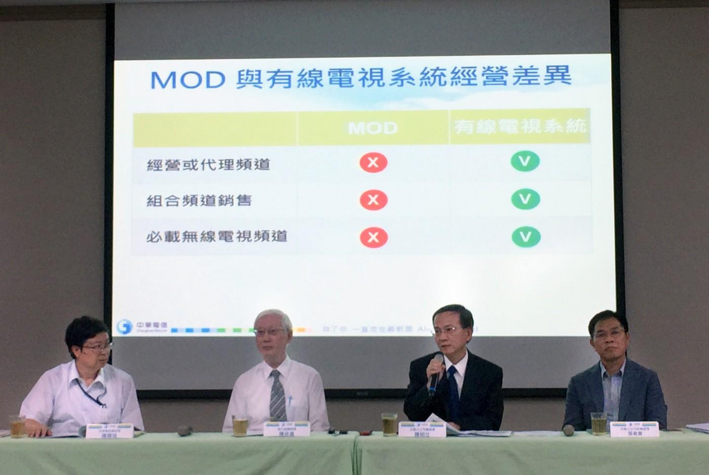 急滅火!中華電信:法規限制無法干預MOD,提三配套措施補救