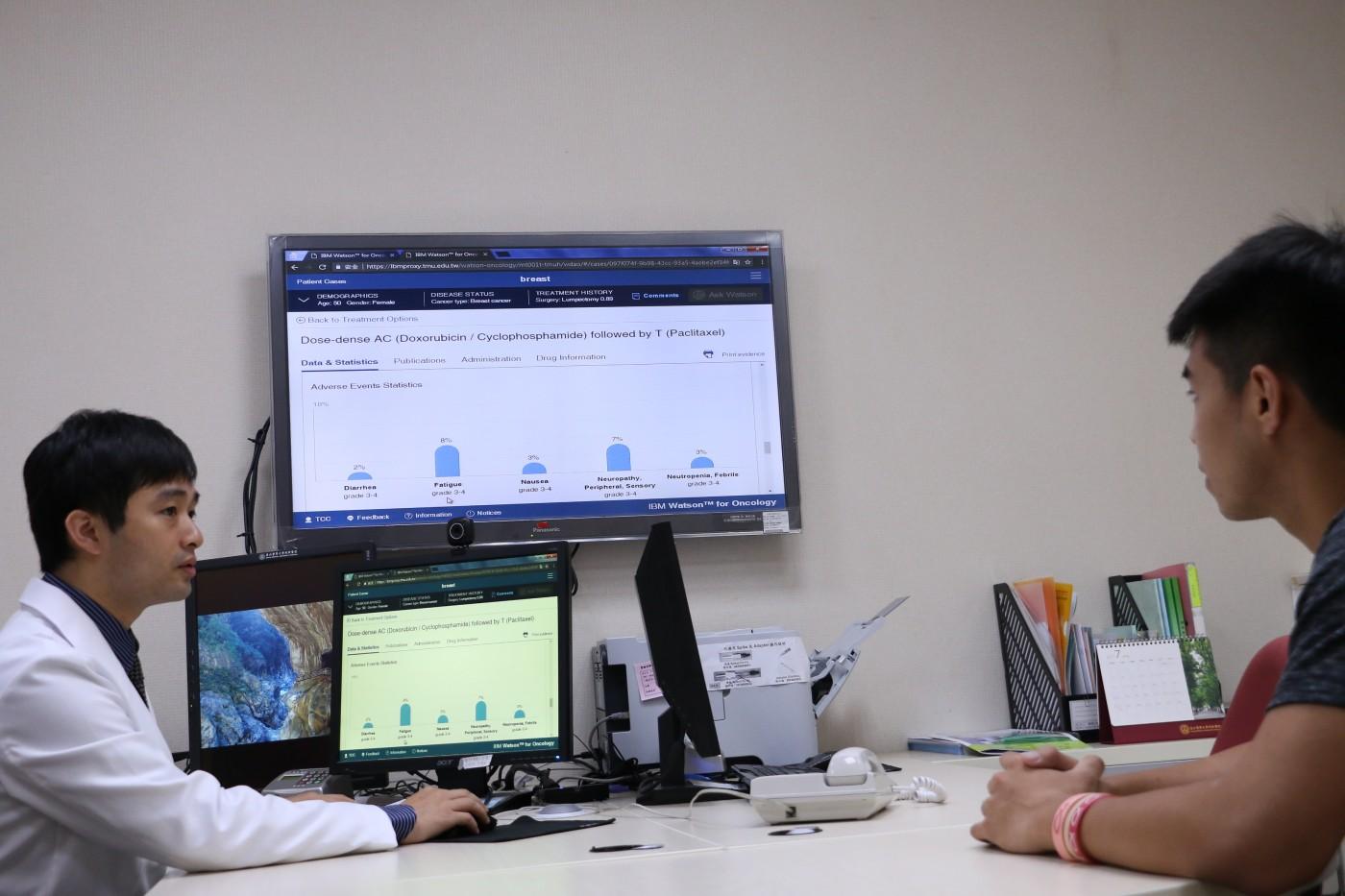 IBM「華生醫師」駐台看診一年半,顯露出AI的雞婆性格