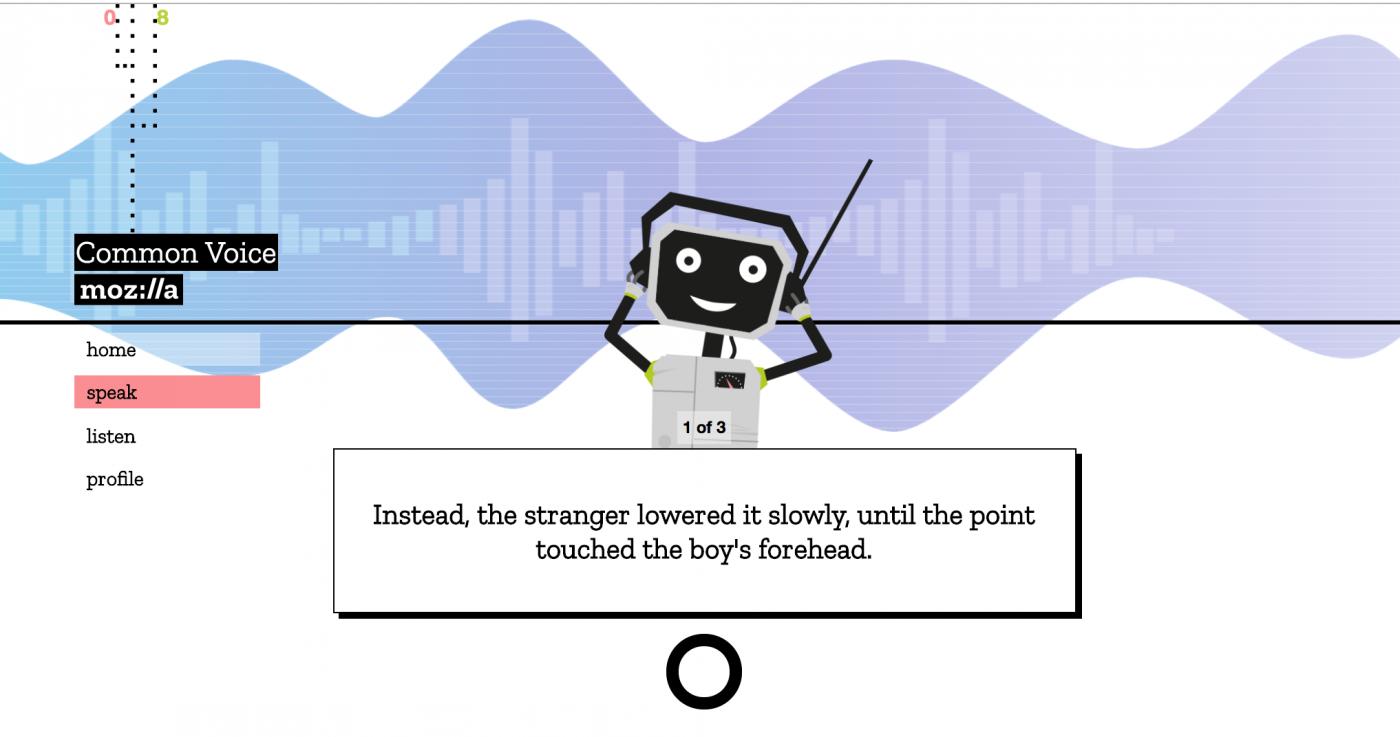 Mozilla號召網友「獻聲」,要打造開源語音辨識系統