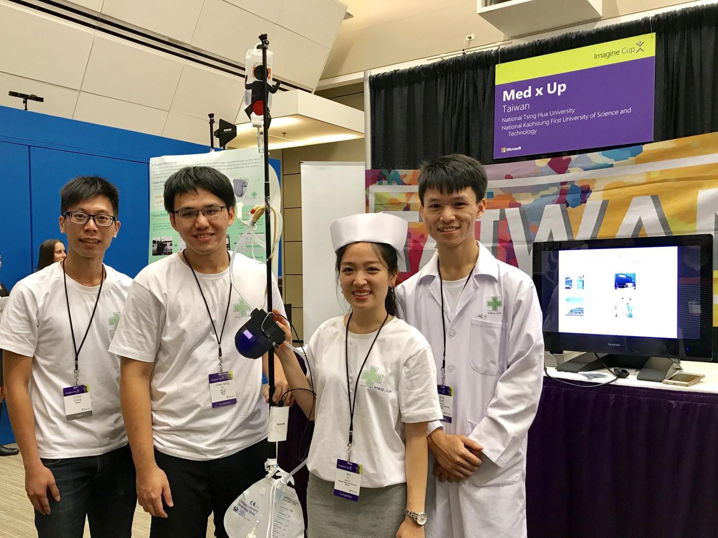 【西雅圖現場】拯救全球100萬條生命!用科技解決醫療問題,台灣學生發光「軟體界奧林匹克」