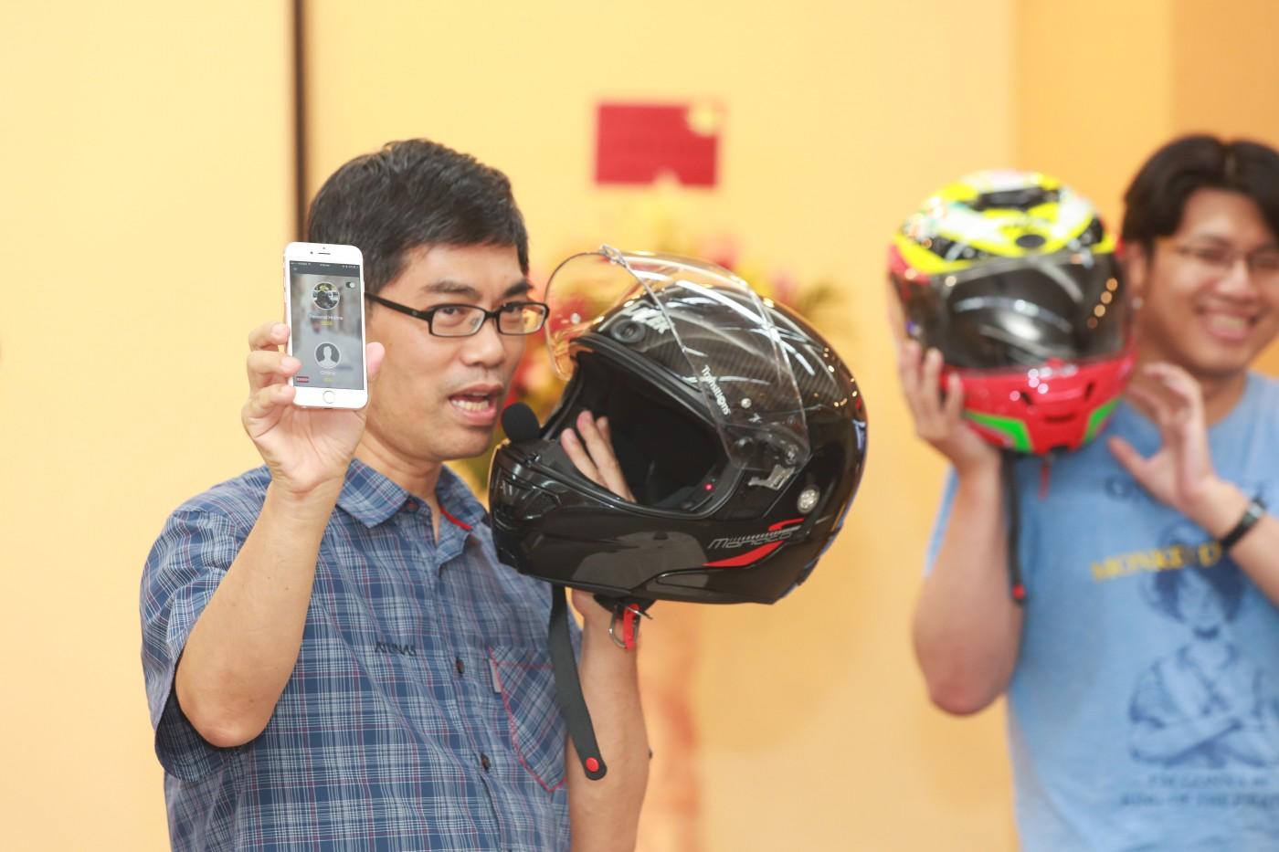 瞄準重機車友,MIT智慧安全帽量產上市,8月起STUDIO A買的到