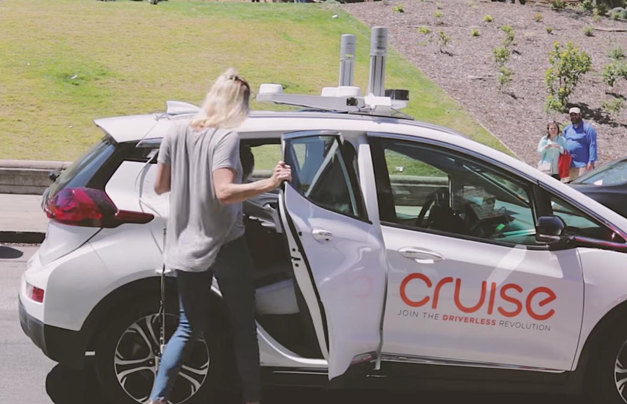 不只做自駕車,通用汽車推自家無人車叫車服務「Cruise Anywhere」