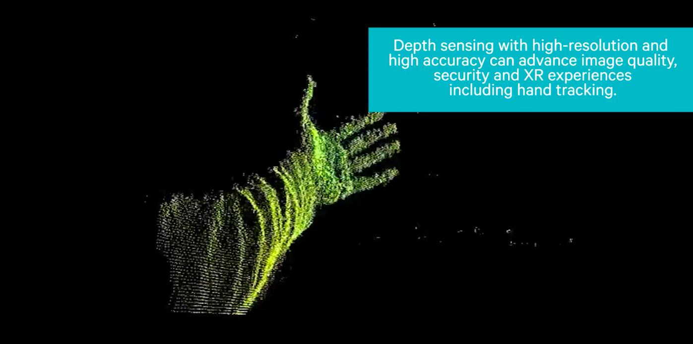 高通展示新深度感測技術:手機相機能辨識真人或相片人臉