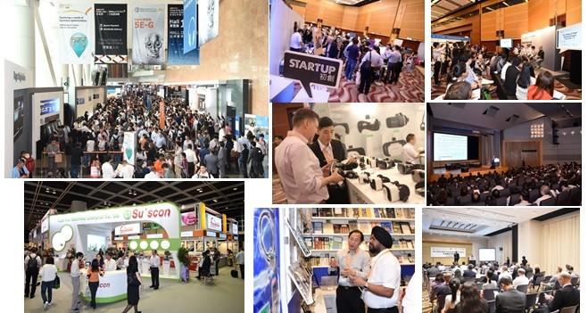 香港秋季電子產品展、國際電子組件及生產技術展十月舉行