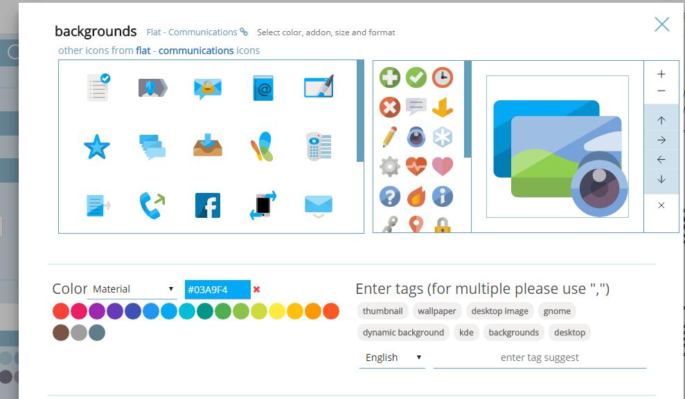 Iconshock: 200萬icon免費圖庫,下載圖示前還可自己改設計