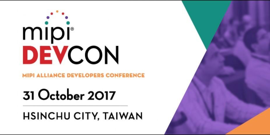 MIPI®聯盟將於台灣高科技核心基地新竹 舉辦「MIPI DevCon開發者大會」