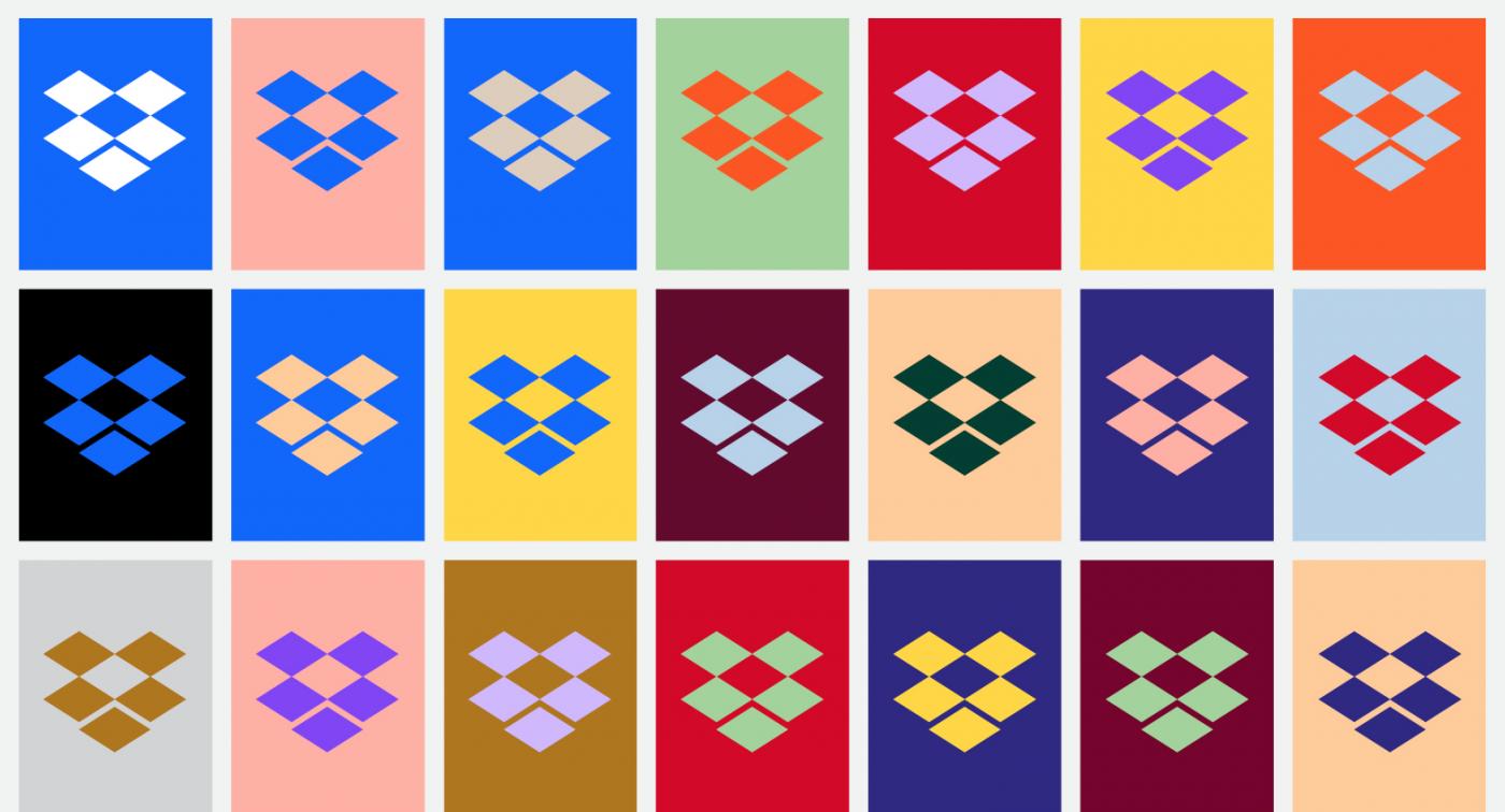 10歲Dropbox大變身,流線新Logo、大膽用色要吸引創意工作者