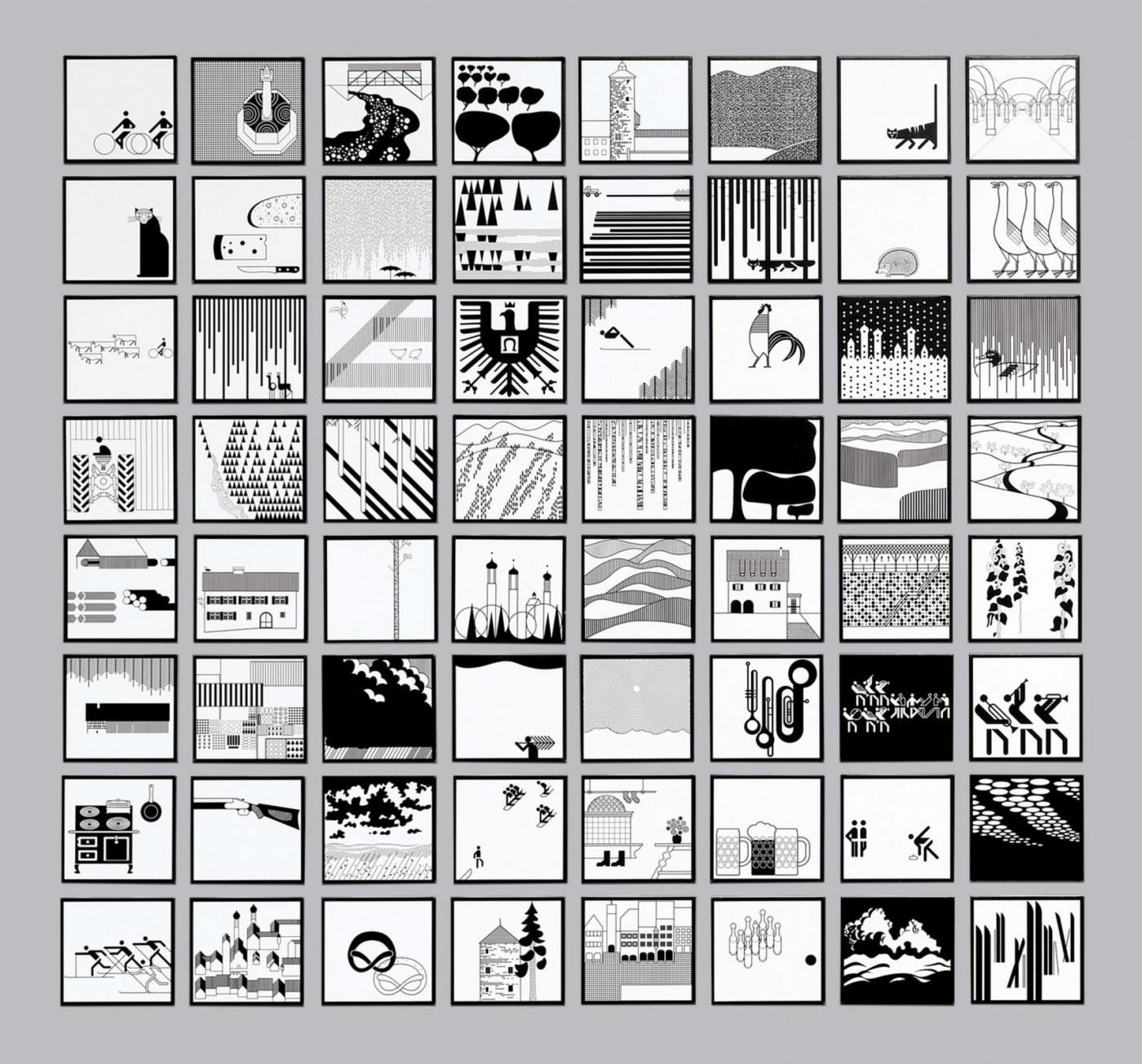小鎮風光也可以用黑白主色做宣傳?設計師敢於堅持,最終讓居民也愛上這套視覺設計