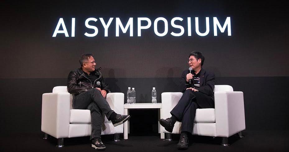 NVIDIA創辦人黃仁勳:在AI時代,台灣有機會和軟體弱項說「再見」!