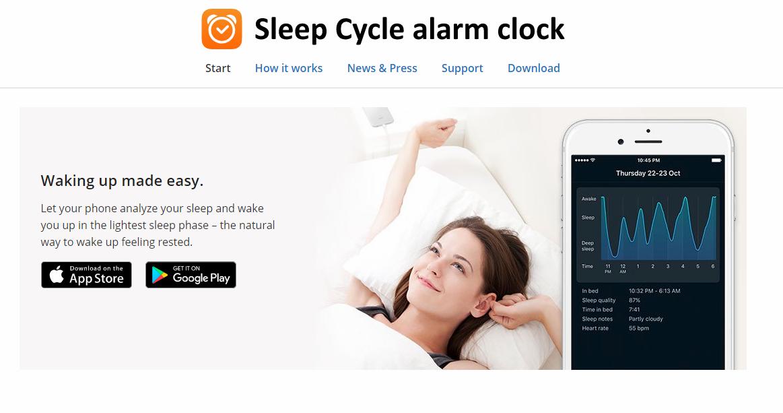 Sleep Cycle睡眠週期鬧鐘在最不累時叫醒你,手機不需放床上