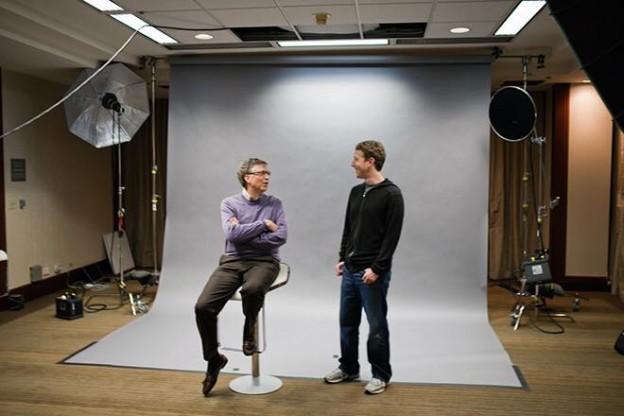 差了28歲的蓋茲和佐克伯,他們在哈佛有同一位老師