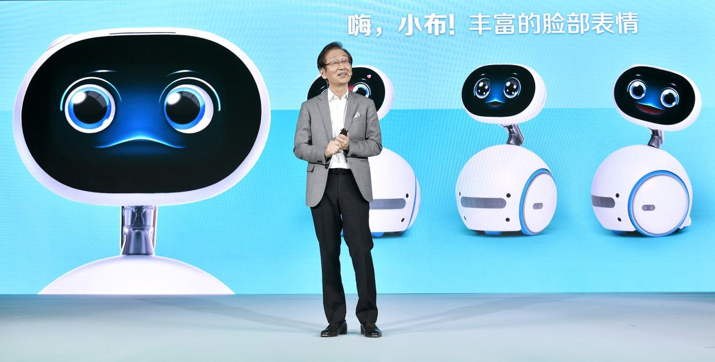 華碩Zenbo正式登陸,取名「小布」機器人,明年再攻美、日