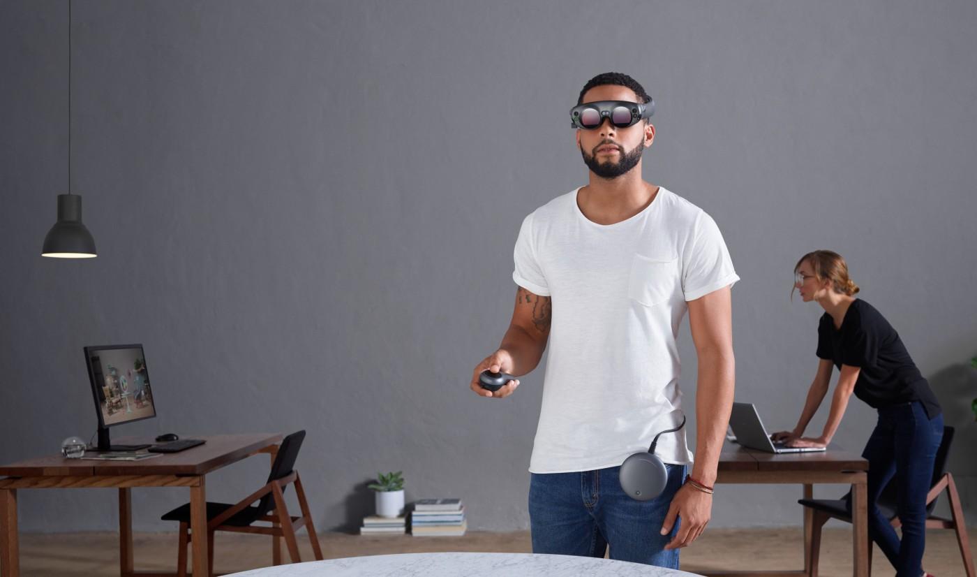 等了七年終於盼到,史上最神秘公司Magic Leap首款AR眼鏡正式亮相