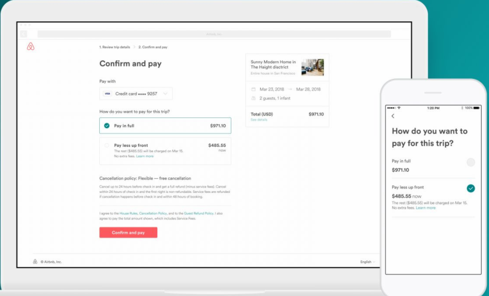 Airbnb for Airbnb how to pay