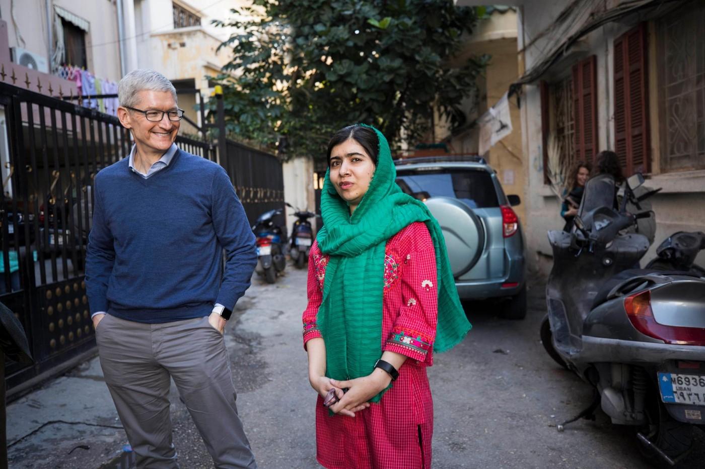 「讓女孩可選擇自己的未來。」蘋果資助馬拉拉基金會,助10萬女童上學