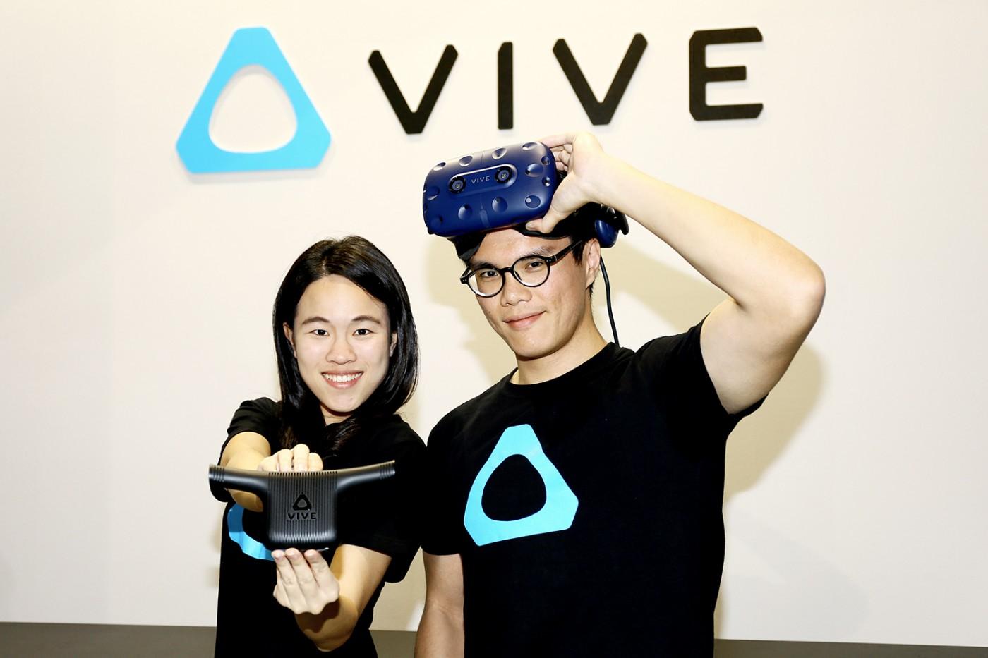 鎖定電競玩家?HTC Vive Pro襲捲台北電玩展,預告上半年開賣