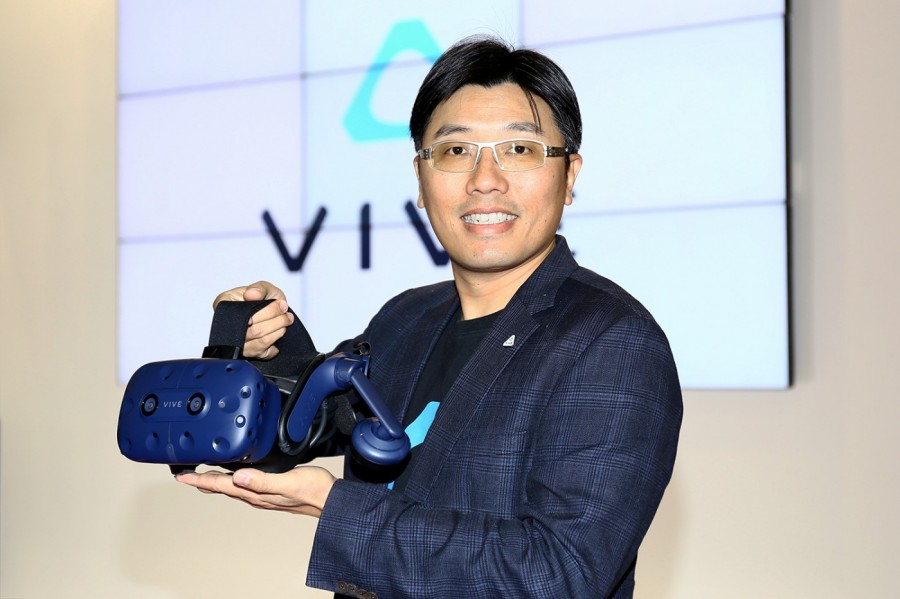 HTC Vive產品及策略副總經理鮑永哲