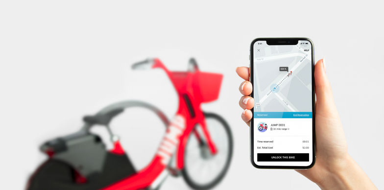 Uber聯手新創Jump推單車共享「Uber Bike」,下週舊金山開始營運