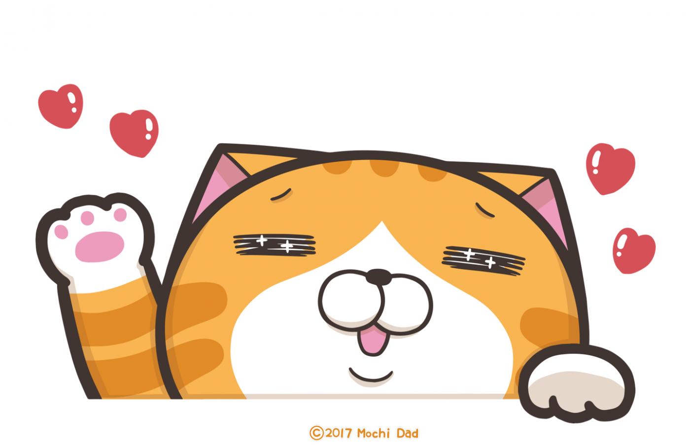 LINE貼圖熱銷榜由白爛貓奪冠,前十名平均銷售額約5千萬元