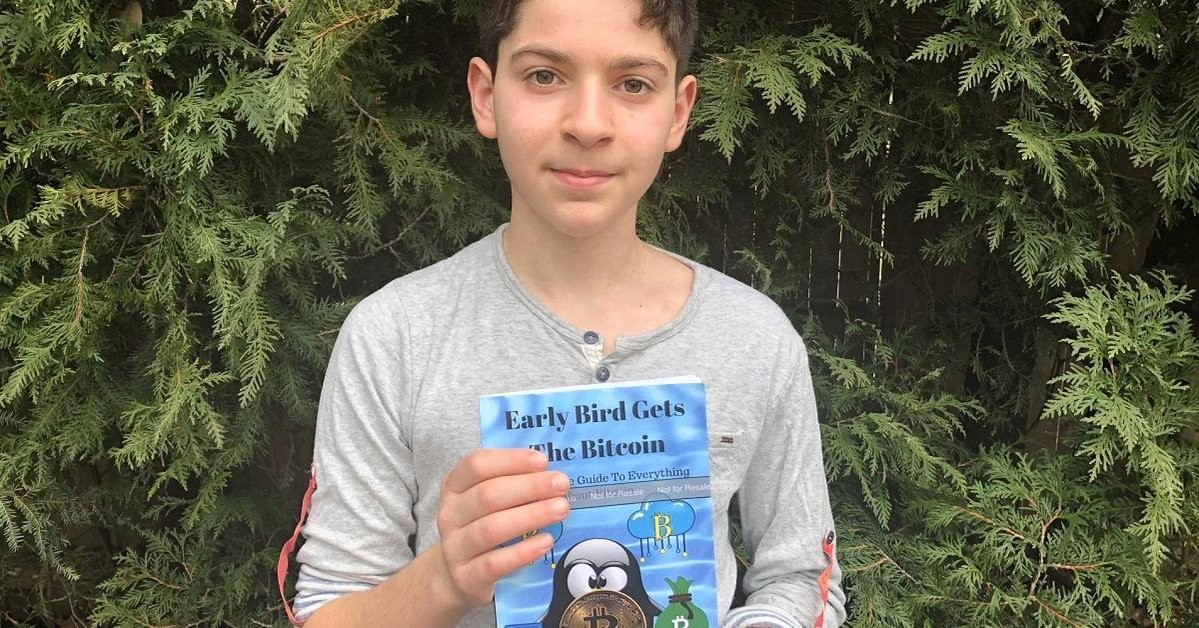 亞馬遜5顆星好評!11歲的比特幣專家,寫書讓世人都搞懂虛擬貨幣