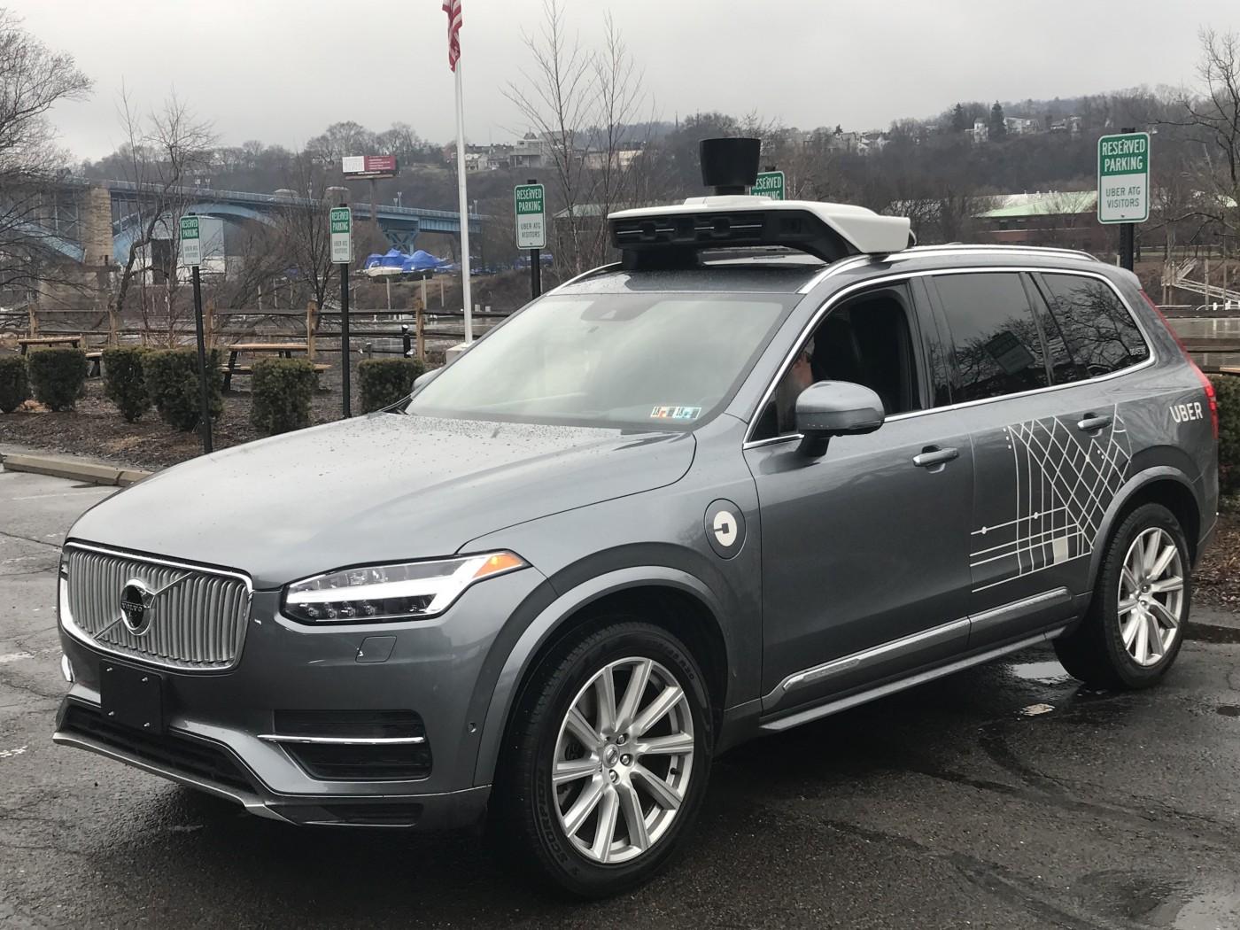 9張圖解密Uber無人車,看他們如何在匹茲堡真實載客