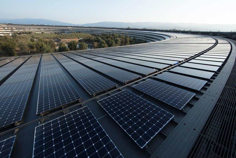 自己的電自己發?蘋果宣布達成全球設施100%採用可再生能源