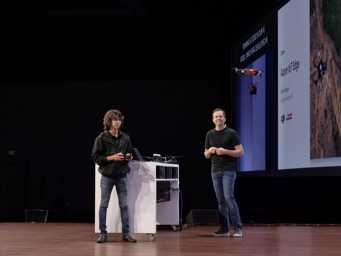 微軟Build 2018 硬體更新亮點:打造未來辦公室、電腦操控無人機