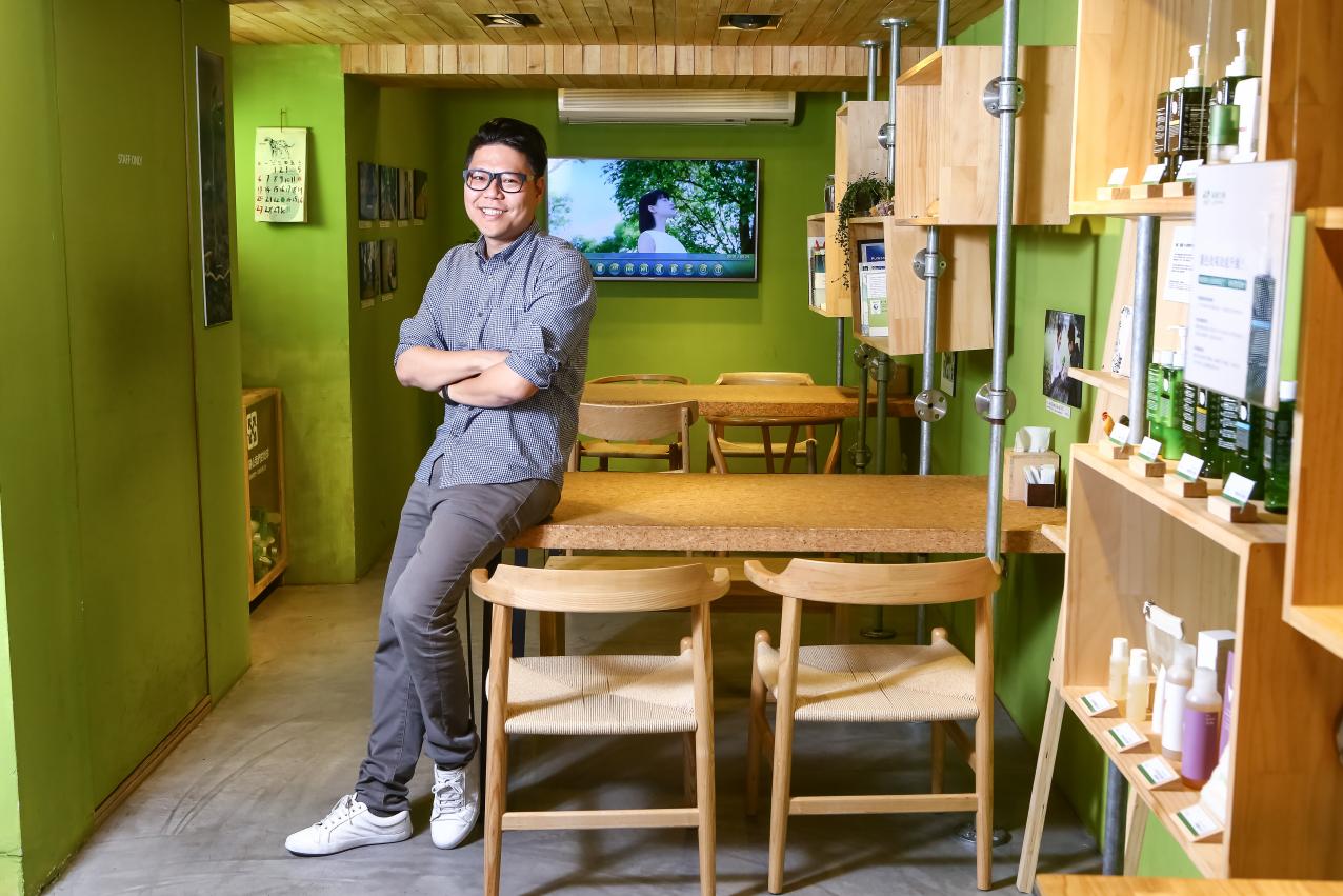 更好地對待人與環境,綠藤鄭涵睿:「除了熱忱,更要以商業力量達成品牌理念」