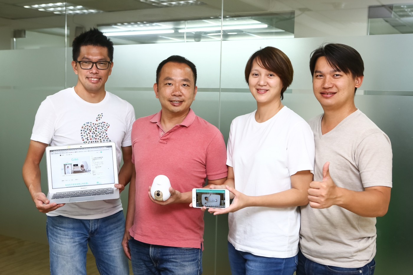 協助新手爸媽的嬰兒照顧好幫手!結合AI技術打造的Cubo智慧寶寶成長攝影機