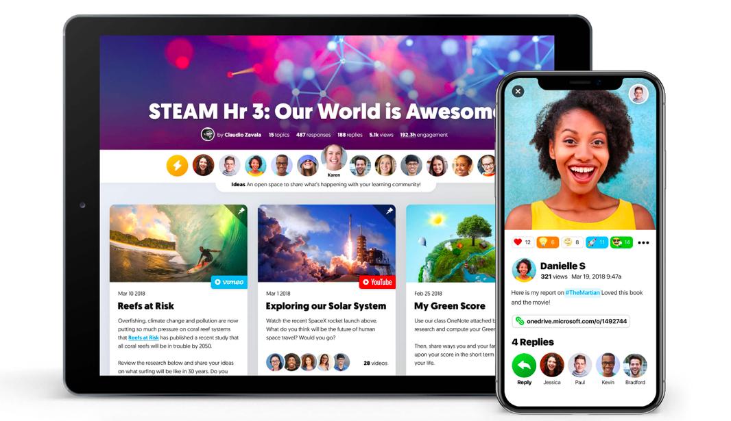 微軟買下教育影音平台Flipgrid,取消年費制、服務全部免費