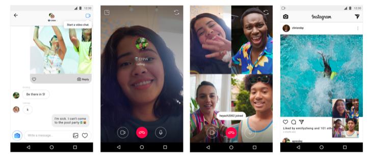 Instagram三大新功能上線!視訊通話讓你邊聊邊滑App