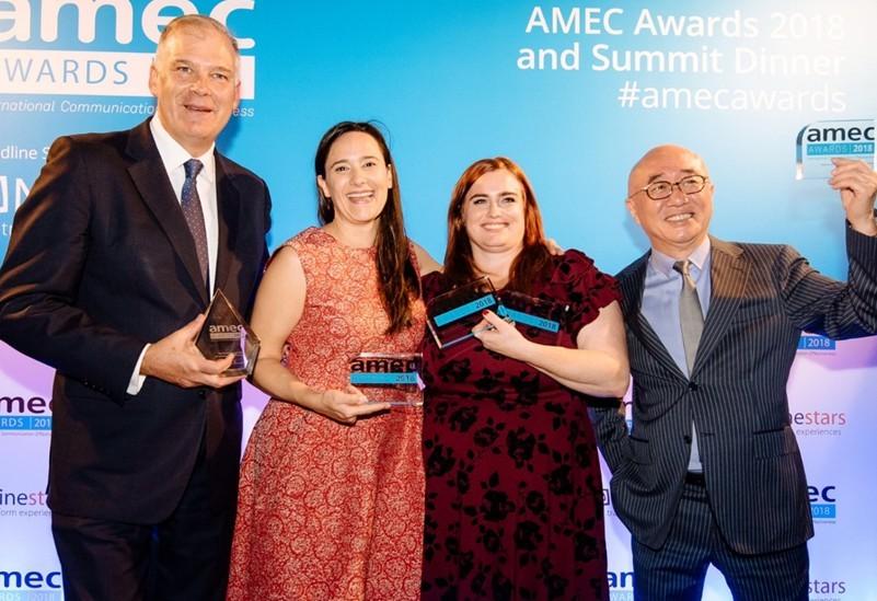 亞太社群輿情分析x公關數位內容 isentia慕亞國際榮獲AMEC最佳消費者行為洞察之創新應用大獎