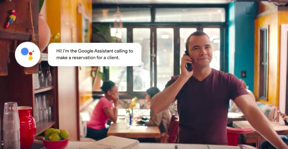 讓AI幫你打電話訂位!Google Duplex正式進行公測