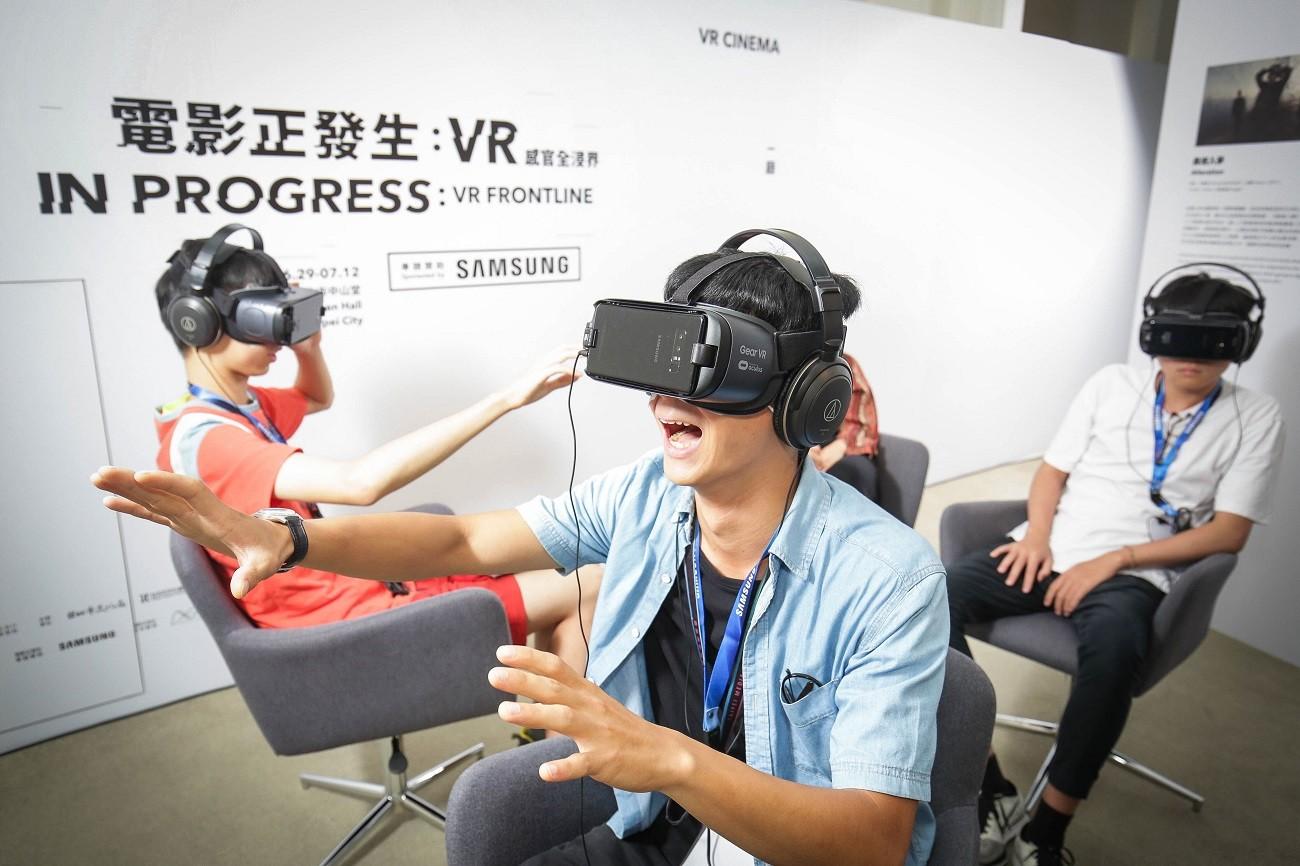 開啟學生VR創作第一步,三星攜手台北影視音學校打造百萬級教室