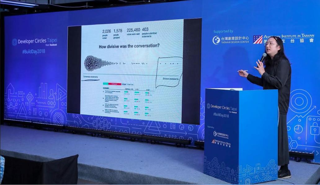 當開發者碰上公民議題,Facebook Build Day唐鳳提政策沙盒概念