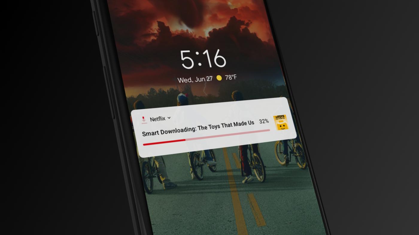 在取消5星評價功能後,Netflix為何要「自動」幫用戶載片到手機上?