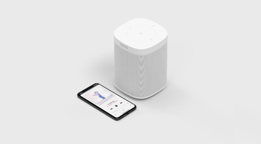 在亚马逊、Google、苹果包夹中脱颖而出!智能音箱厂商Sonos正式IPO<p></p>Sonos One