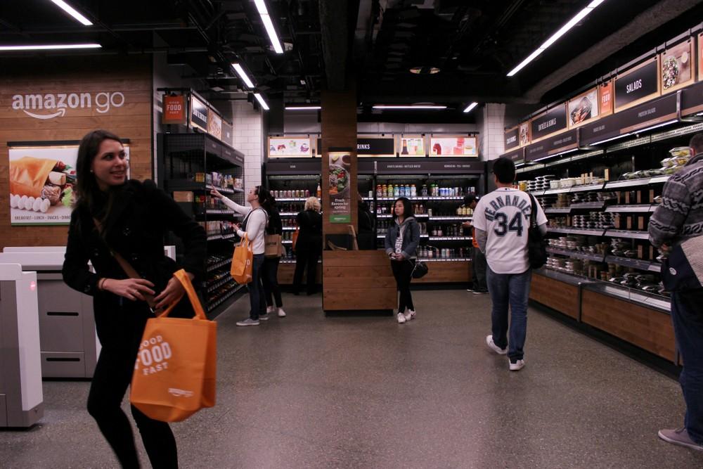 Amazon Go「拿了就走」技術整套賣!超市、零售商都能改造自己的無人店