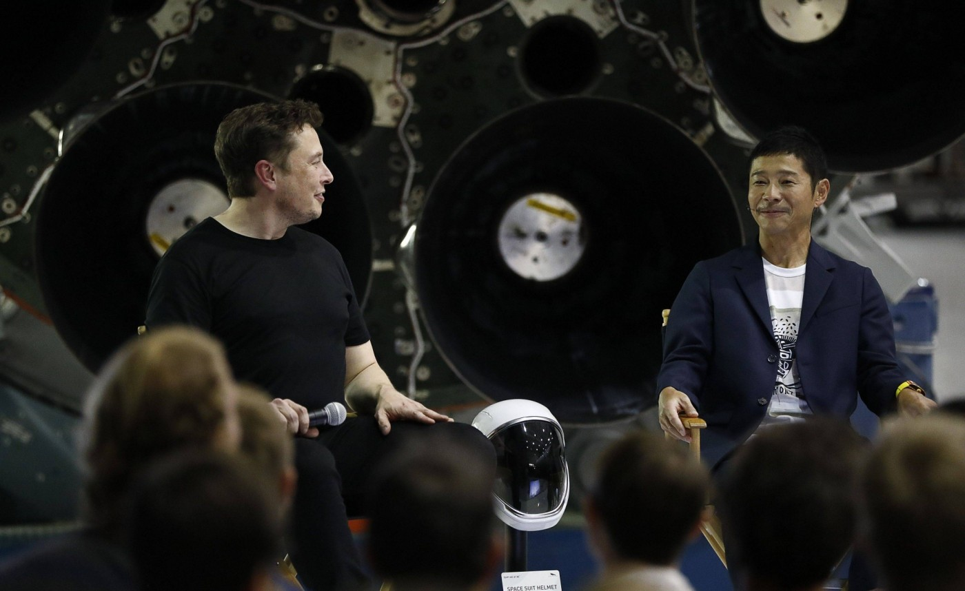 SpaceX首位乘客揭曉!日本時尚電商社長為什麼要包下繞月旅行的所有船票?